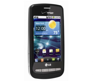 Front view of the LG Vortex