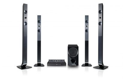 LG Smart 3D Blu-ray™ home theater system model HX966TZ