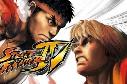 A wallpaper image of Capcom's Street Fighter IV