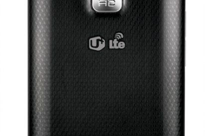 Rear image of LG's FIRST 4G HD SMARTPHONE