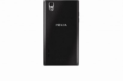 Rear view of PRADA phone by LG 3.0