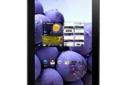 Front view of LG Optimus Pad LTE