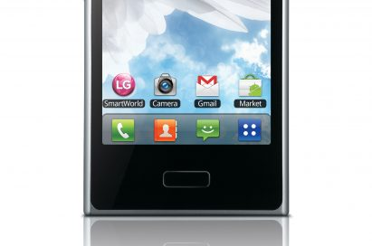 Front view of LG Optimus L3