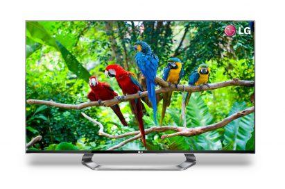 LG's 55-inch CINEMA 3D Smart TV model 55LM9600