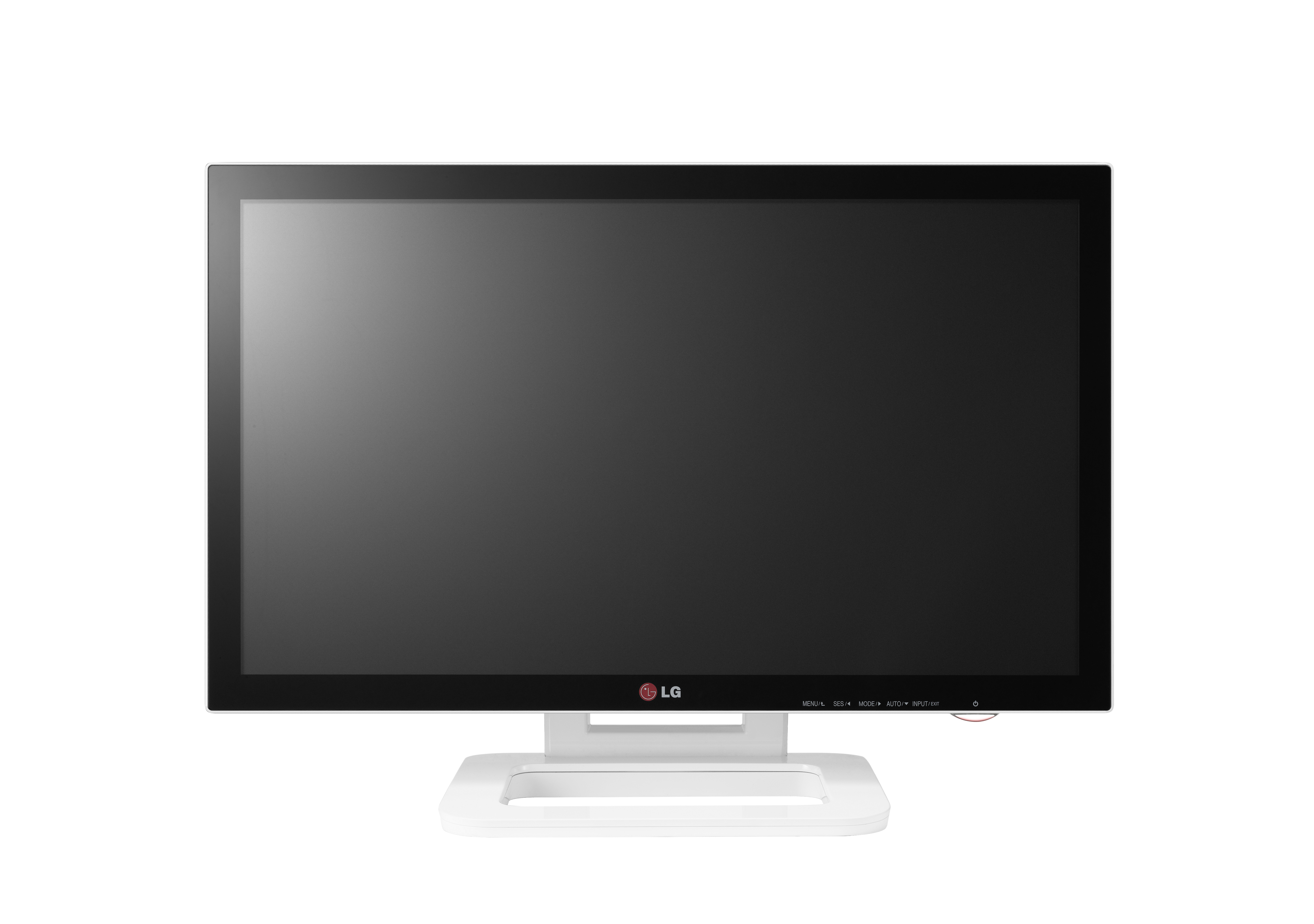 A front view of LG Touch 10 monitor model ET83