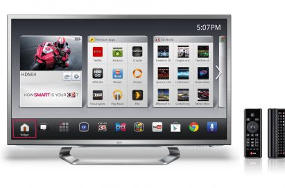 2012 LG Smart TV with Google TV™ (G2 Series)