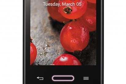 A front view of the LG Optimus G Pro