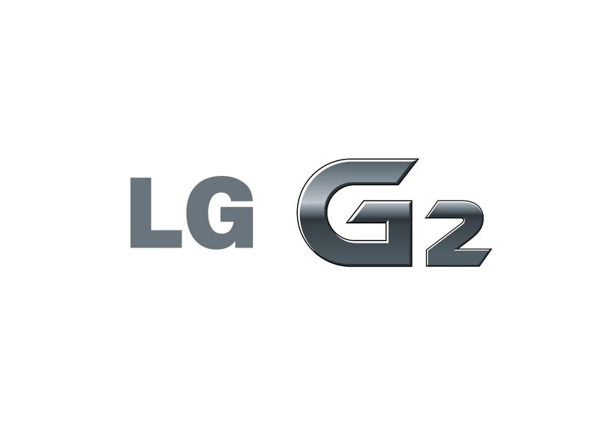 Logo of LG G2 against a white background.