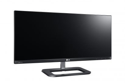 Left-side view of the LG IPS 21:9 UltraWide IPS monitor model 29EB73