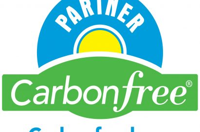 The certificate of Carbonfree partner given by Carbonfund.org.
