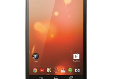 A front view of LG G Pad 8.3 Google Play Edition.