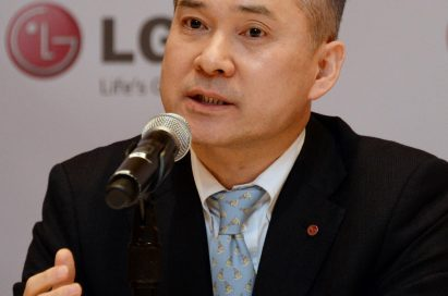 LG HE Company president and CEO, Hyun-hwoi Ha, announcing that LG Electronics Home Entertainment Company is changing the dynamics of the TV market