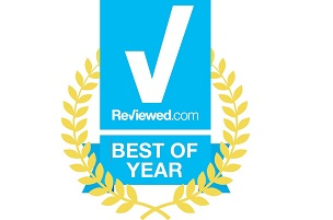 Logo of Reviewed.com's Best of Year
