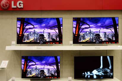 LG 2015 TV Launch Event 4K OLED TVs