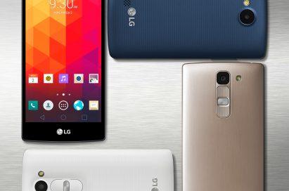 Four of LG new mid-range smartphones.