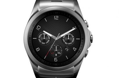 Front view of LG Watch Urban LTE in silver