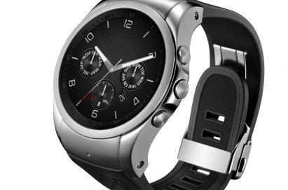 A side view of LG Watch Urbane LTE.