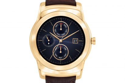 Front view of the LG Watch Urbane Luxe