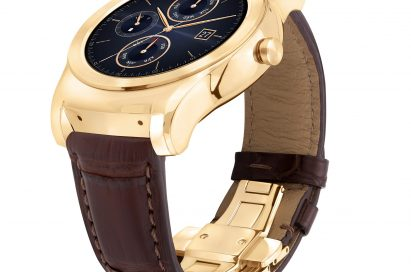 Side view of the LG Watch Urbane Luxe