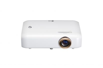 Front view of LG Minibeam series model PH550
