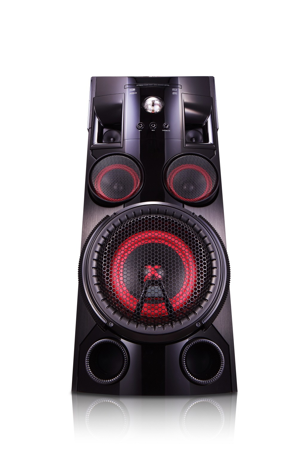 Front view of LG XBOOM Solo model OM7560