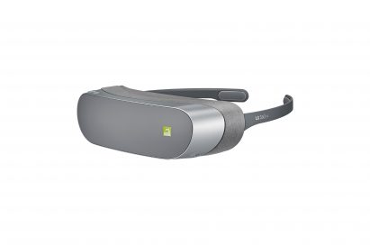 Front view of the LG 360 VR Headset