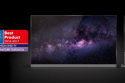 LG Electronics' (LG) OLED TV (model 65G6) named the best high-end TV in Europe for 2016 by the European Imaging and Sound Association (EISA).