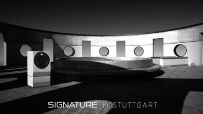 LG SIGNATURE washing machine at the State University of Music and Performing Arts in Stuttgart