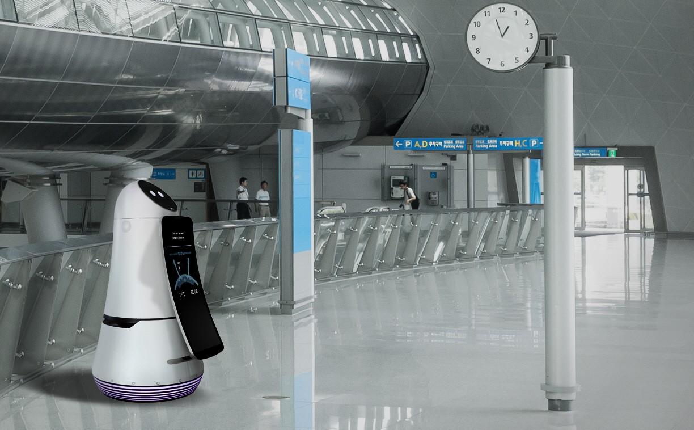 LG Airport GuideBot at Incheon International airport
