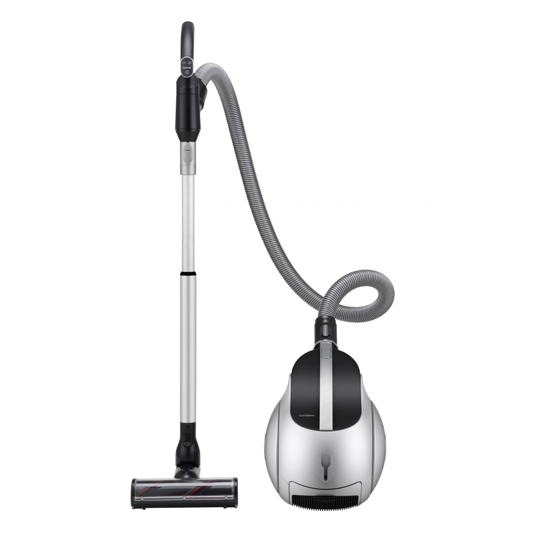 Front view of the LG CordZero Canister vacuum cleaner