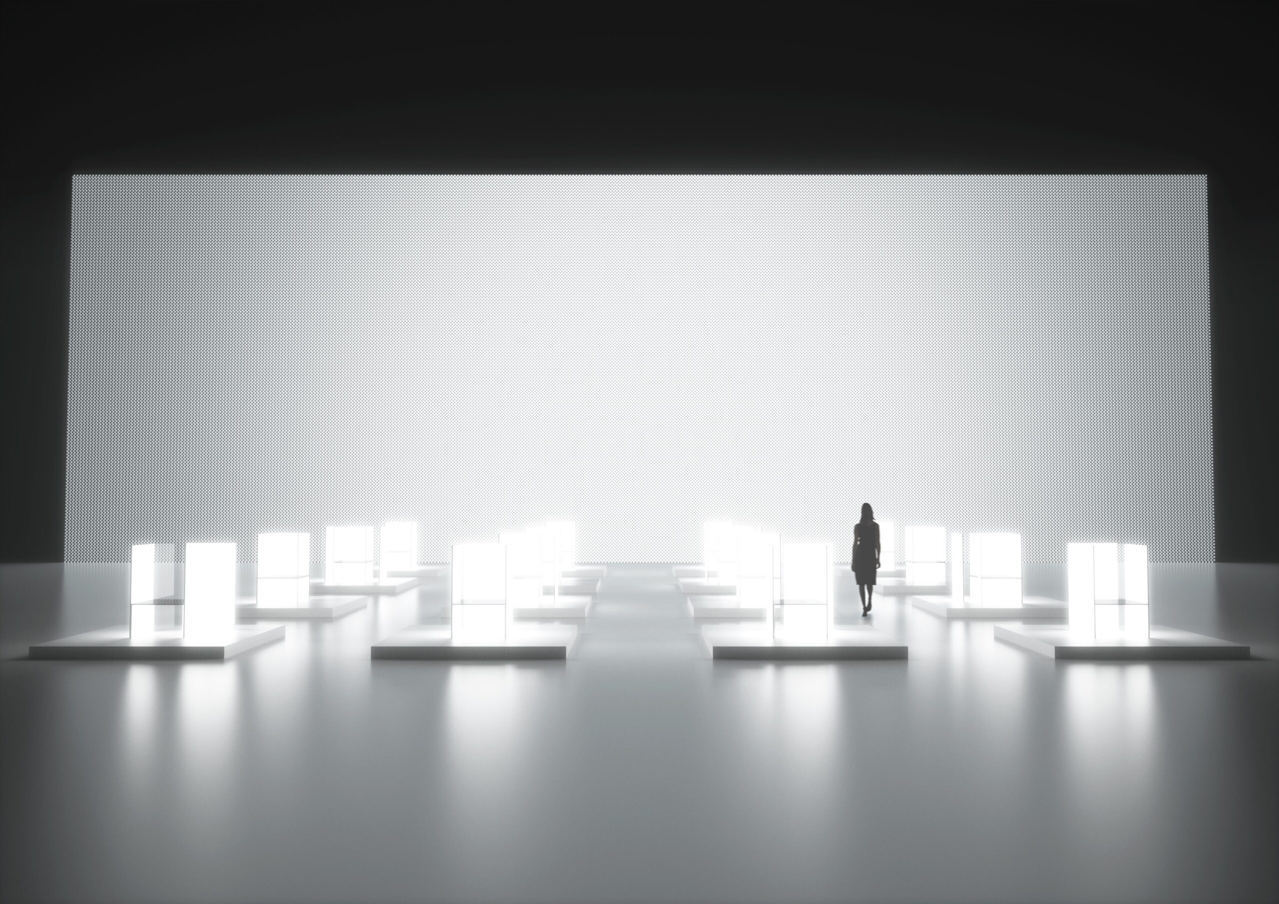 LG's world's largest design exhibition, S.F_Senses of the Future, created by Superstudio Piu for 2017 Milano Design Week.