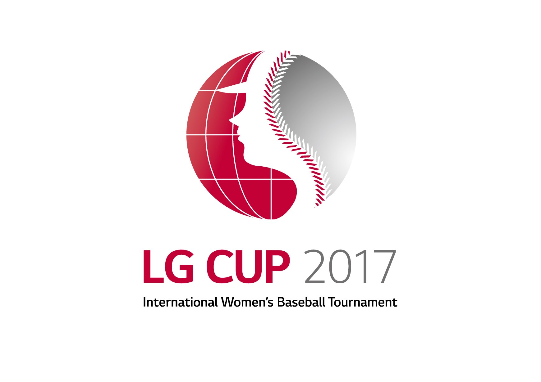LG CUP 2017 International Women's Baseball Tournament logo