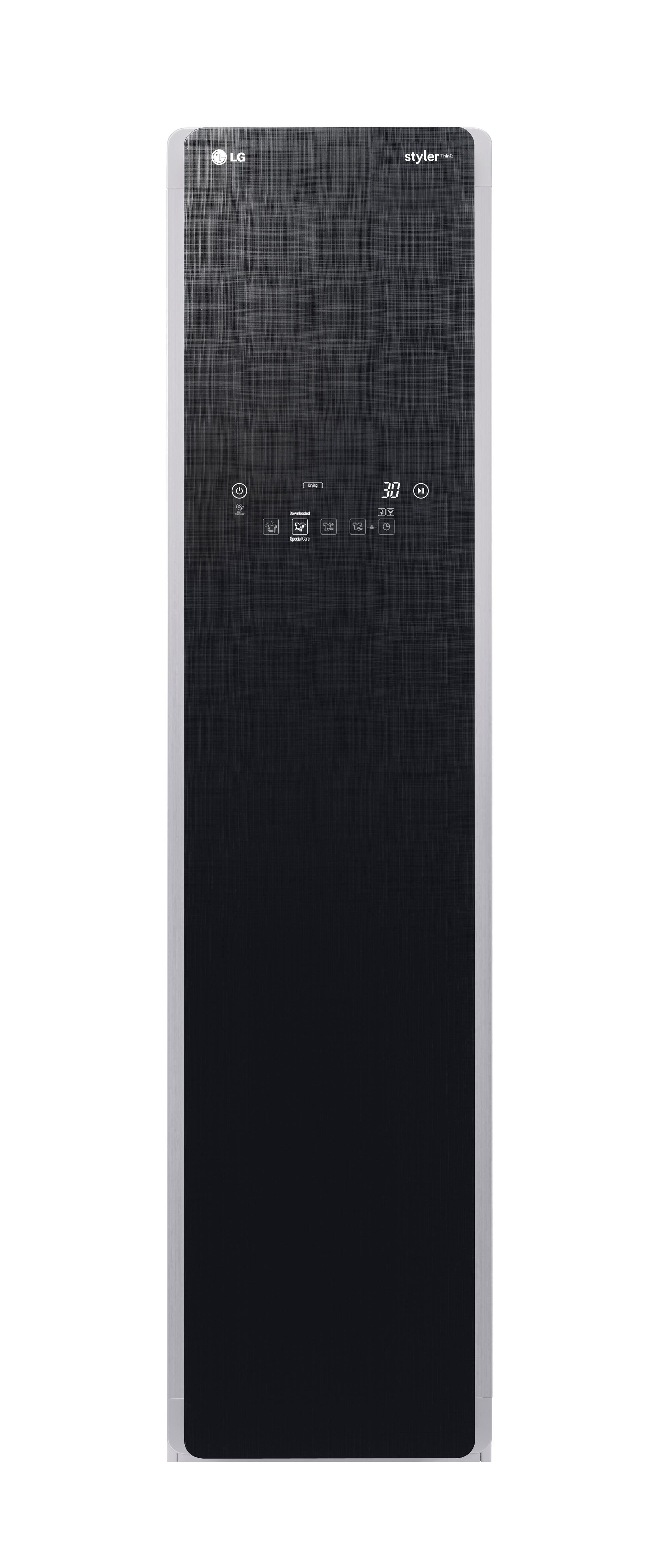 Front view of LG Styler door