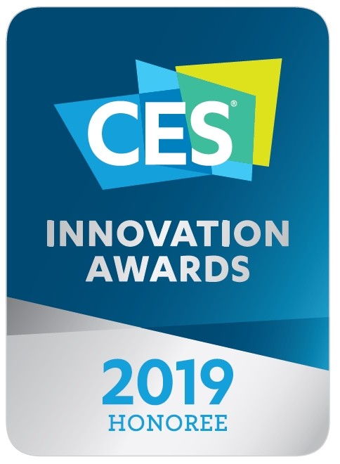 Logo of CES Innovation Awards 2019 – Honoree.