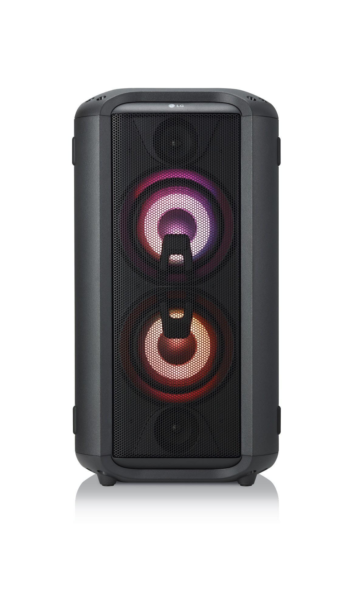 A front view of LG XBOOM model RL4