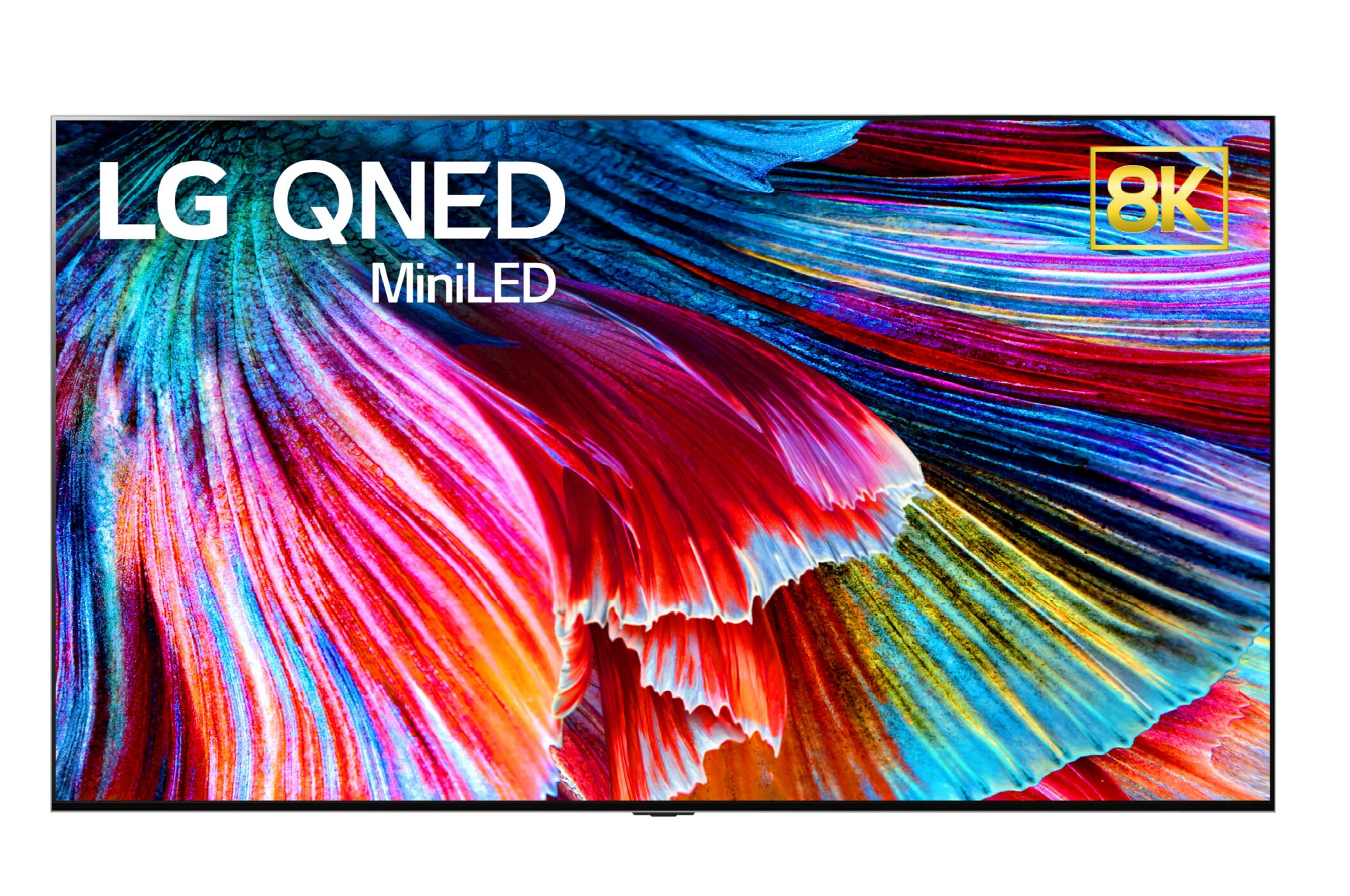 LG 8K QNED TV with Mini LED backlight delivers a range of colors on its screen with incredible accuracy and much deeper blacks